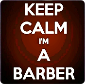 Keep Calm I'm a Precizion Barber